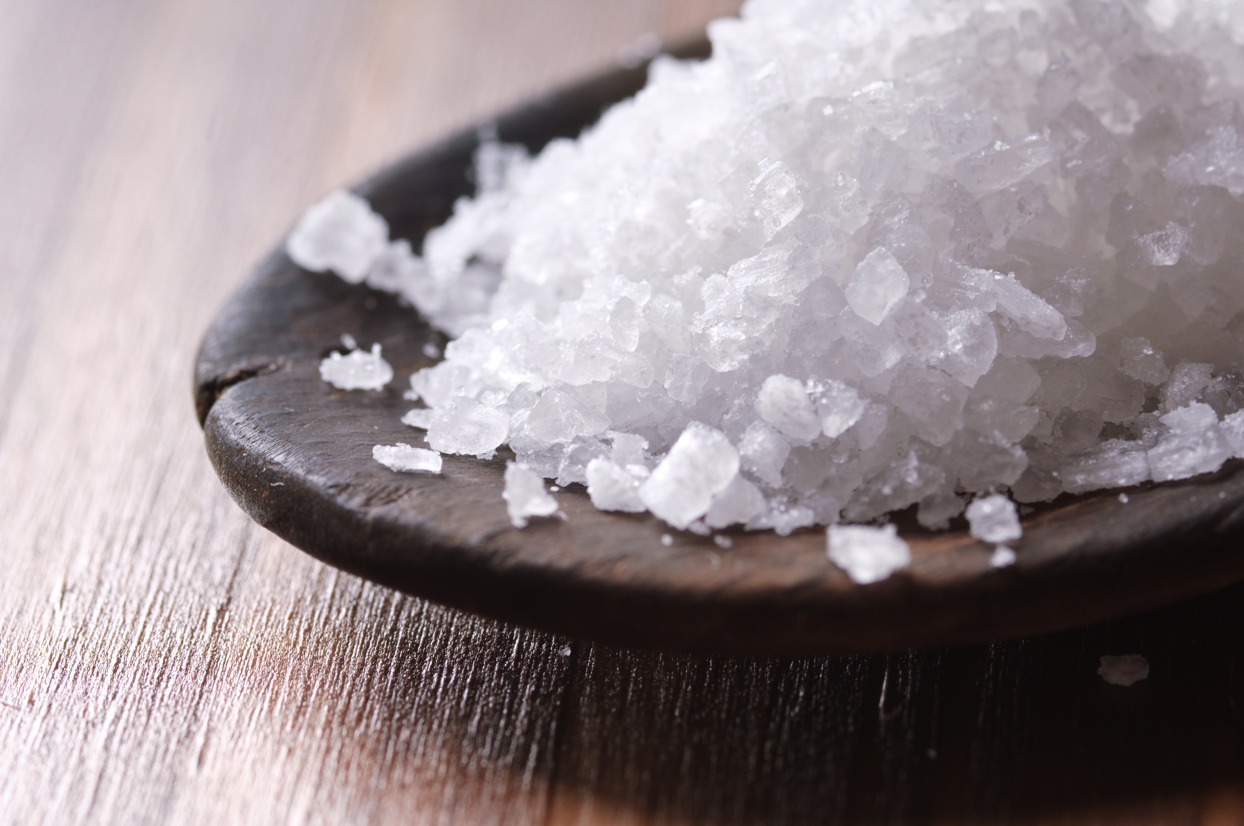 Luxury salt? It's not that crazy when you think about it...