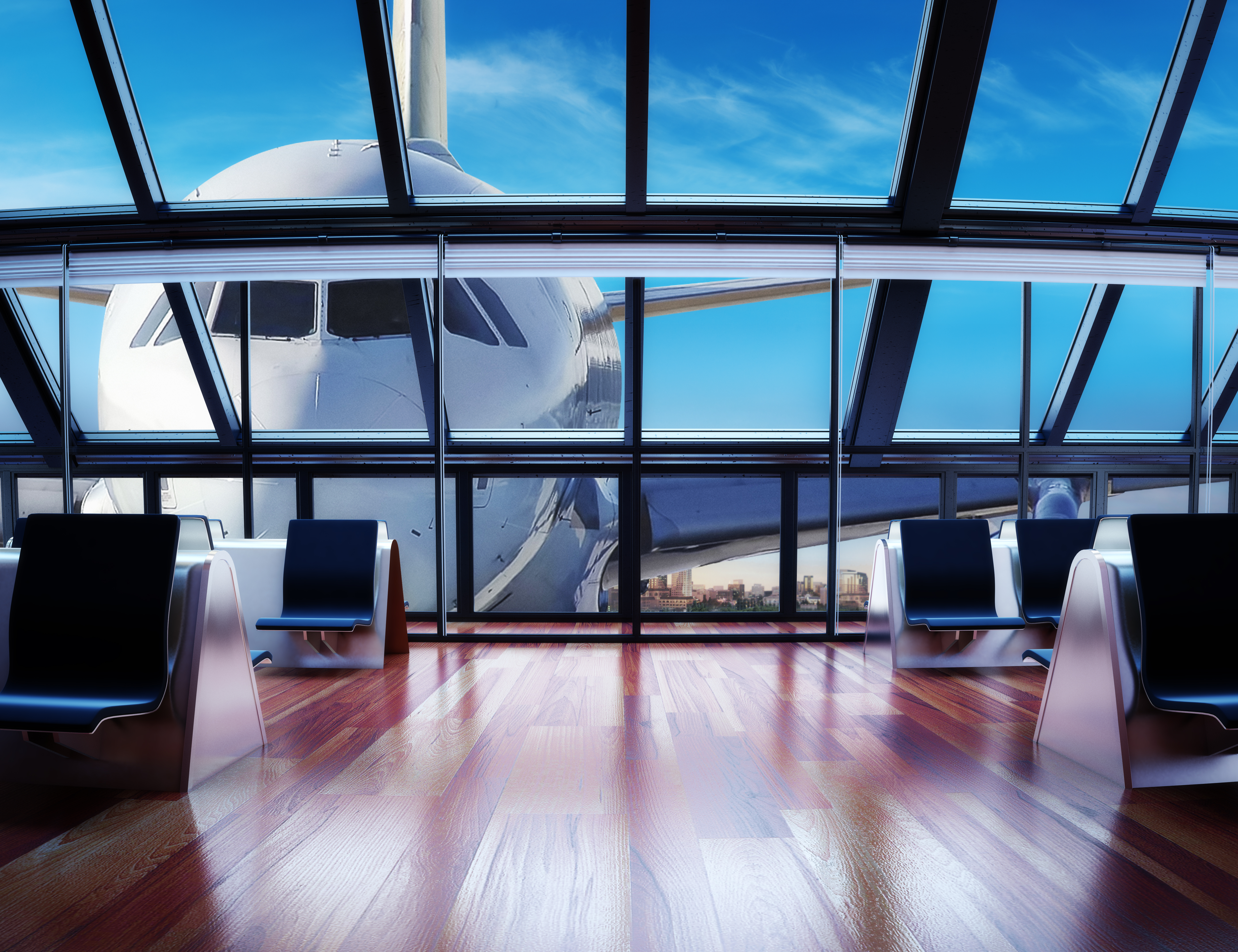Airport lounges are some of the true luxuries of first class on the ground